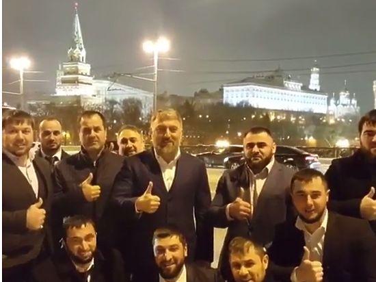 Чеченский депутат поддержал Кадырова криками