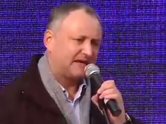 Лидер молдавских социалистов Додон рассказал, как они будут брать власть
