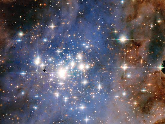 Телескоп Hubble сфотографировал