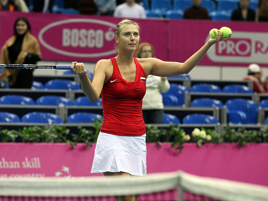 Шарапова победила Дэвис и вышла в 1\8 финала Australian Open