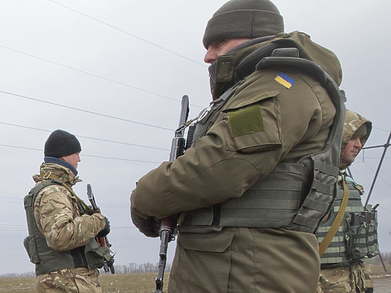Вирус свиного гриппа изводит украинских солдат в зоне АТО