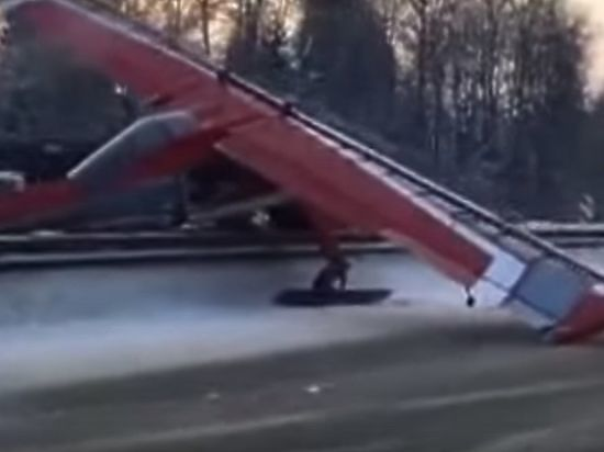 Следователи установили личность пилота, посадившего самолет на подмосковное шоссе