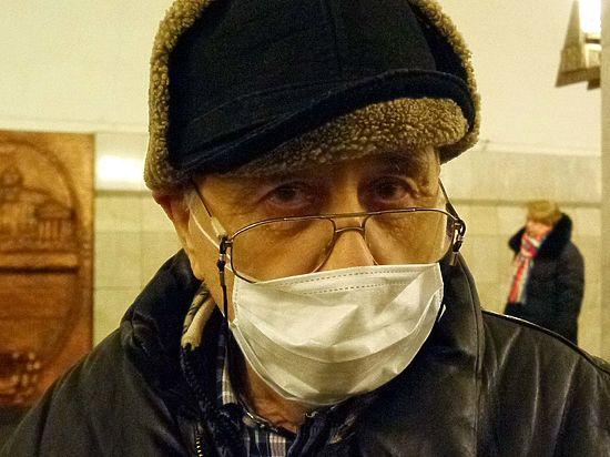 Карантин в маске: москвичи спасаются от эпидемии гриппа