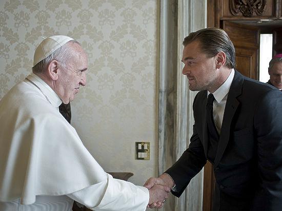 Папа Римский и Леонардо Ди Каприо обсудили мировую экологию