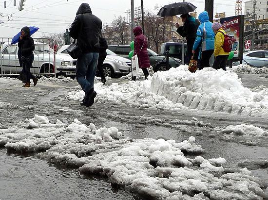 Московских пешеходов попросили не выходить на улицу