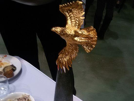 Как Михалков себя «Золотым орлом» наградил