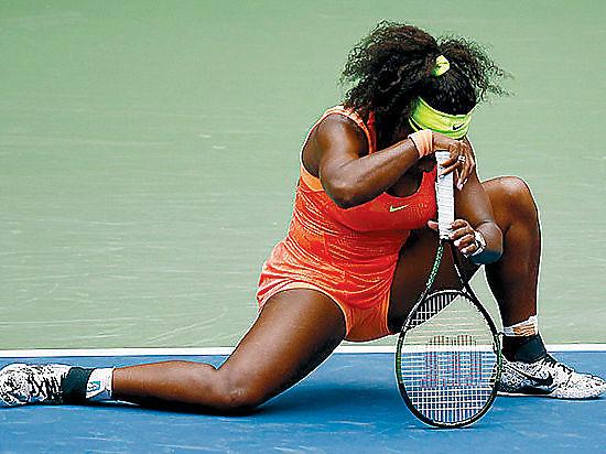 Теннис: Это случилось - Серена Уильямс проиграла!