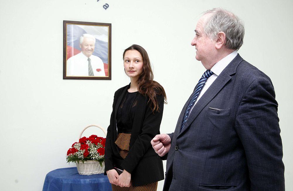 Родные и соратники почтили память Ельцина