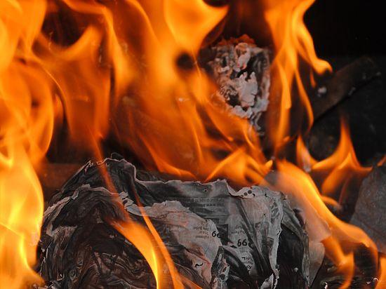 В Бурцево дети не успели спастись от огня бегством