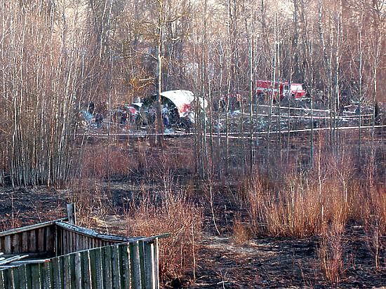Министр обороны Польши: самолет Качиньского разрушился еще в воздухе