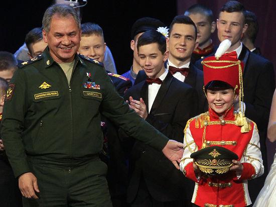 Шойгу наградил финалистов КВН среди суворовских и кадетских училищ
