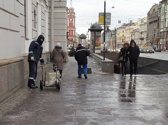 Петербург — столица гололеда
