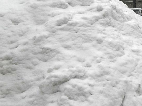 Снегоуборщик в Екатеринбурге высыпал на девочку целый сугроб