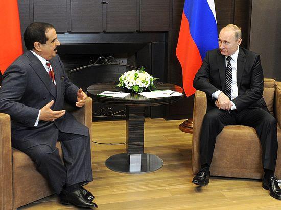 Король Бахрейна отказал Путину в совместном катании на лыжах