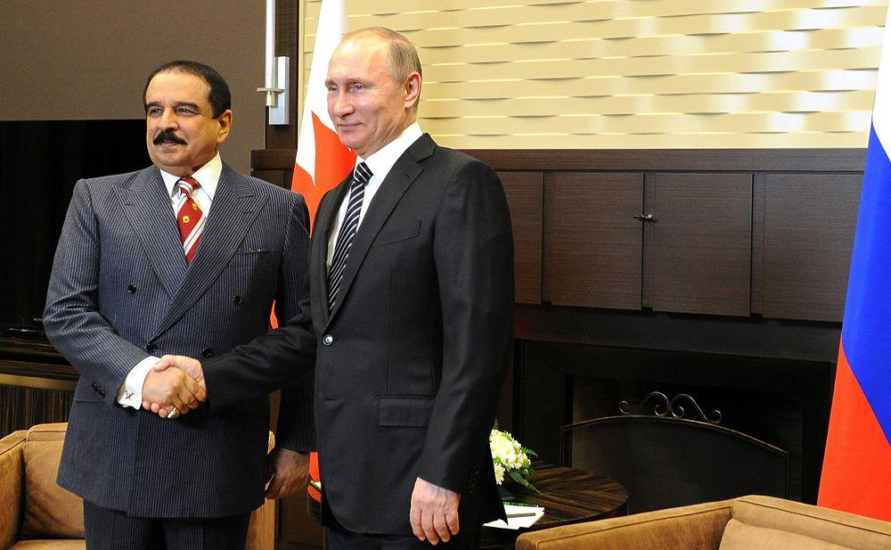 8 февраля Владимир Путин принимал в Сочи Хамада Бен Ису аль-Халифа.