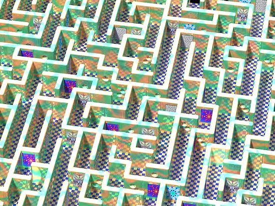 Специалисты обучили искуственный интеллект ориентироваться в лабиринте