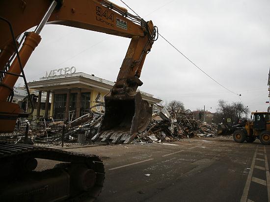 Владельцам снесенных торговых павильонов разрешат построиться в других местах Москвы