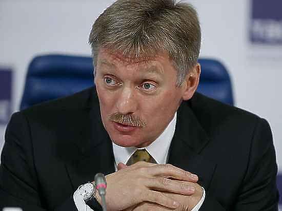 Песков прокомментировал нападение на Касьянова с тортом