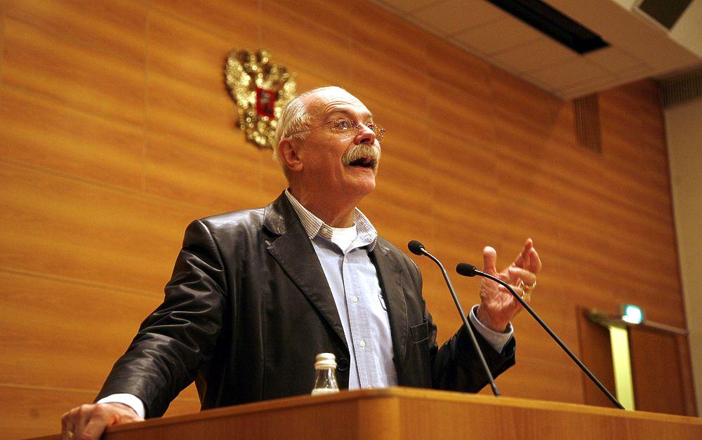 Никита Михалков выступил в Государственной Думе с рассказом о Годе кино