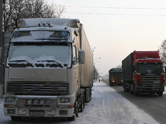 Украинские националисты заблокировали транзит российских фур в Европу