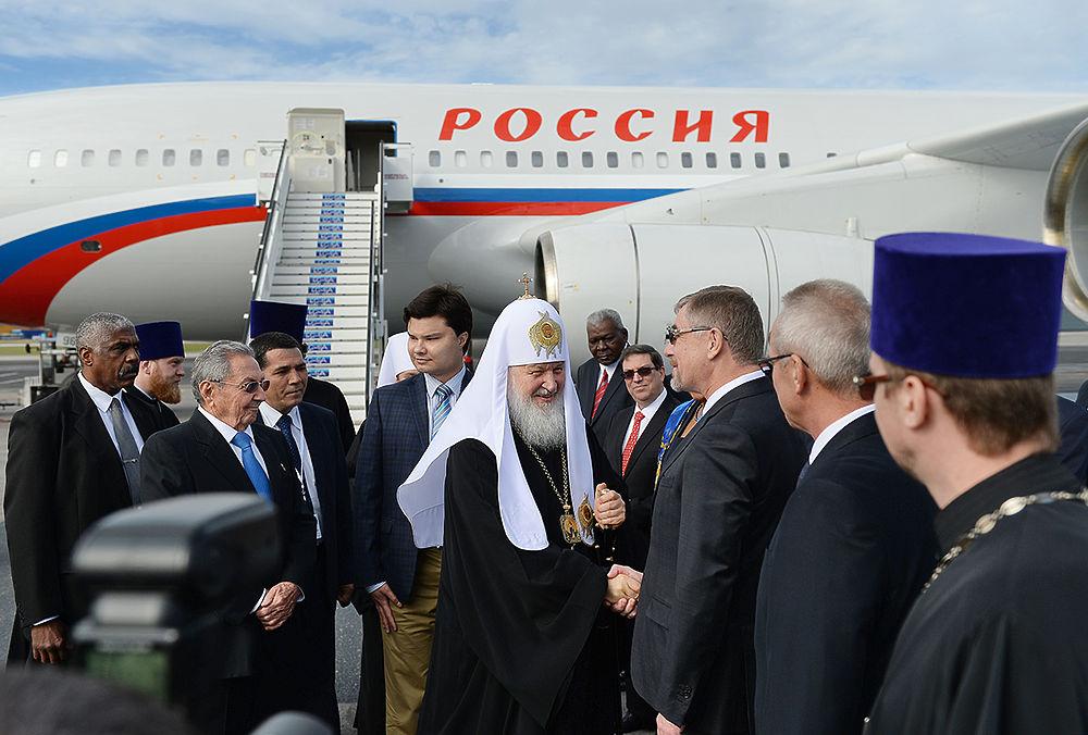 Патриарх Кирилл начал свой визит в Латинской Америки с посещения Кубы.