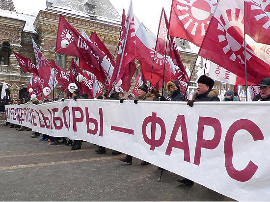 Штурм парламента: в Госдуму собрались маргинальные партии