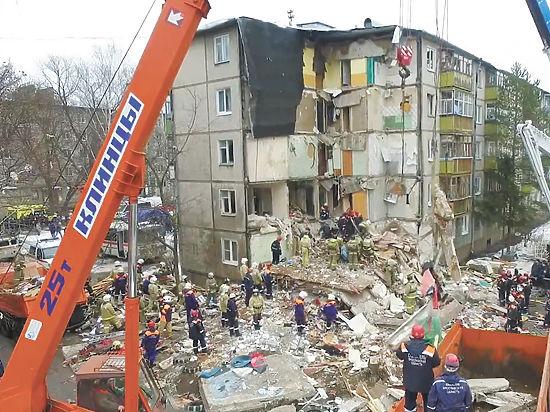 Плач Ярославля: спасатели ищут квартиру, которая взорвала дом