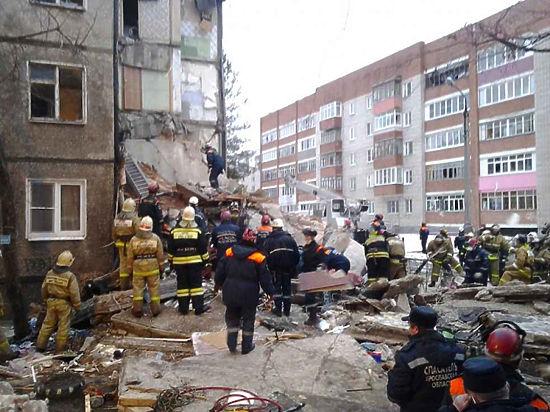 Во взорвавшемся доме в Ярославле запах газа чувствовали накануне