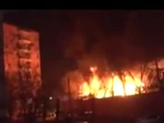 Мощный взрыв прогремел в Анкаре рядом с общежитием для военнослужащих