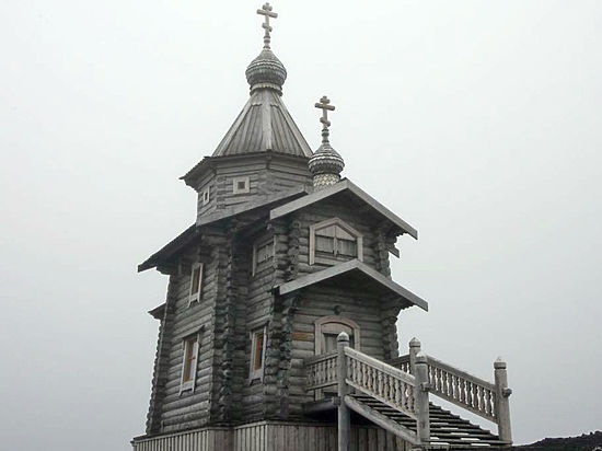 Патриарх отправился в Антарктиду, где отслужит литургию в алтайском храме