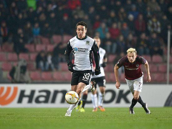 «Краснодар» проиграл «Спарте» в Лиге Европы со счетом 0:1
