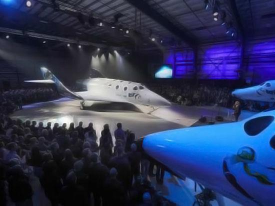 Американская Virgin Galactic показала новый космический корабль для вип-туристов