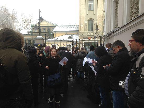 Презентация доклада о Кадырове завершилась провокациями