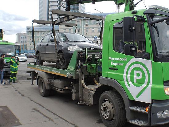 Госдума предложила сделать эвакуацию автомобилей бесплатной