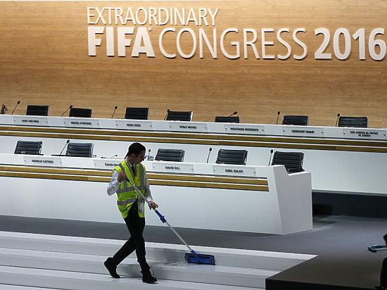 1-ый тур выборов президента FIFA невыявил победителя