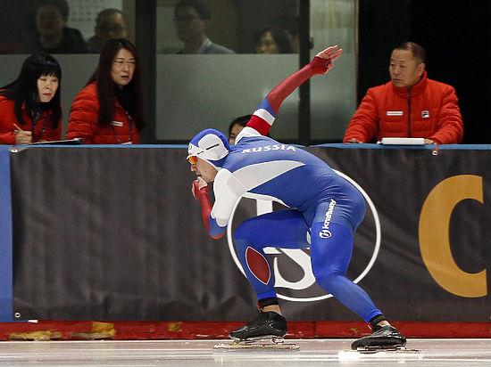 Павел Кулижников стал лучшим спринтером мира среди конькобежцев
