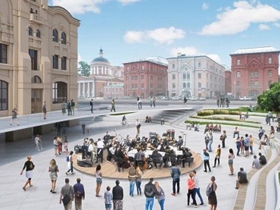 Пешеходная зона объединит Новую и Лубянскую площади