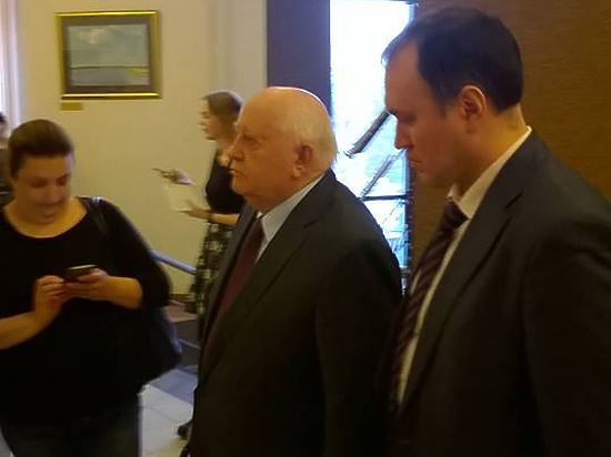 Горбачев пообещал отметить свое 100-летие