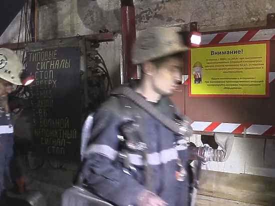 На шахте «Северная» идут обыски и допросы
