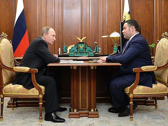 В Тверской области сменилась власть: и.о. губернатора стал Игорь Руденя
