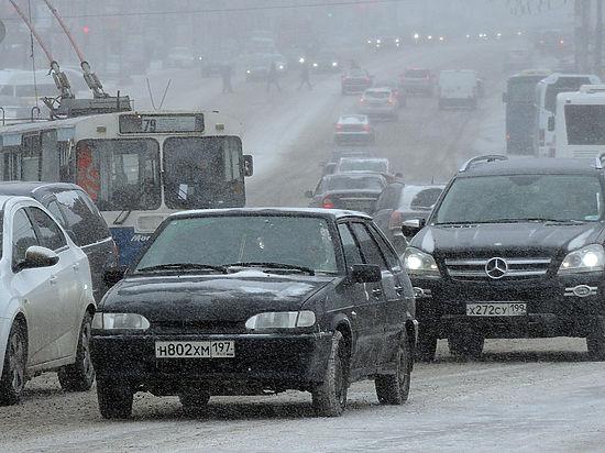 Начало весны Москва отметила самыми большими заторами с начала года