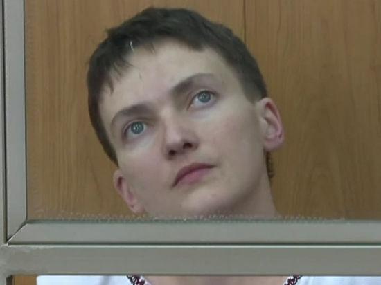 Савченко объявила сухую голодовку: судья прервал ее последнее слово