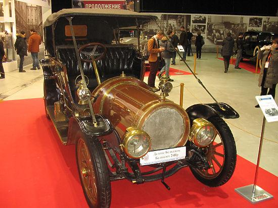 Царские привычки Ленина и Троцкого: открылась выставка автомобилей для вождей