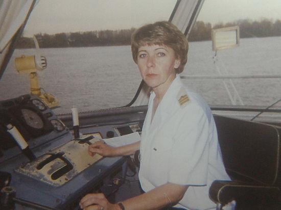 Женщина-капитан рассказала о специфике своей работы