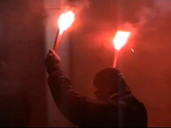 В Киеве совершено нападение на российское посольство из-за Савченко