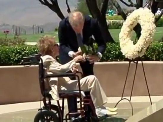 В США скончалась бывшая первая леди Нэнси Рейган