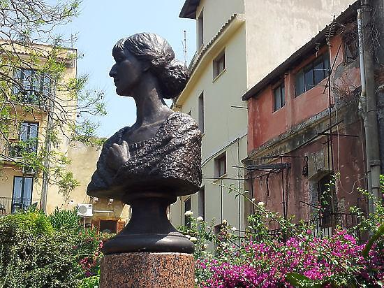 Ахматова в Сицилии