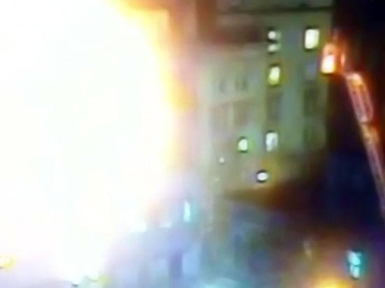 При взрыве в Москве погибшего выбросило с восьмого этажа