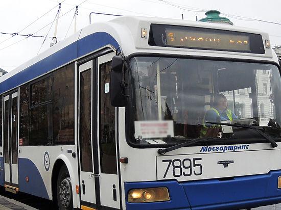 Троллейбусы уберут и с Садового кольца, и с Тверской улицы
