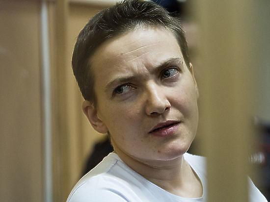 Савченко объяснила, почему прекратила сухую голодовку